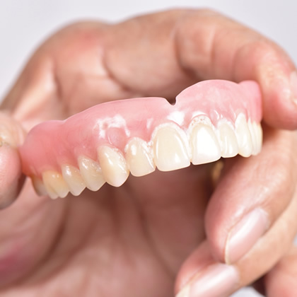 当院の部分入れ歯治療